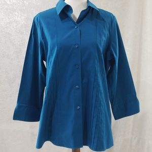 Cute Teal Colored Blouse